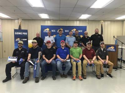 Somerset Community College, KAM Celebrate Kentucky Manufacturing Going Pro Signing Day