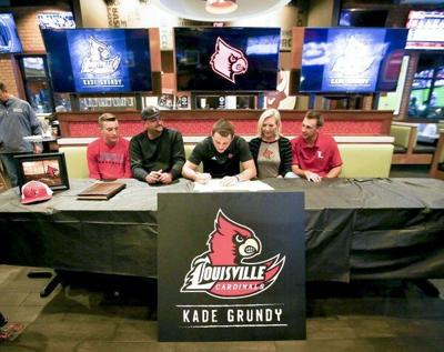 Kade Grundy signs with University of Louisville