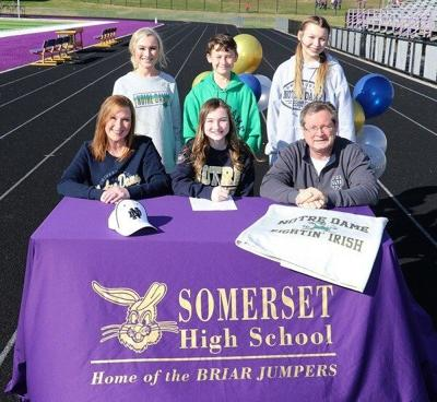 Kendal Burgess signs with Notre Dame: Becomes first Briar Jumper in over 100 years to sigh at prestigious university