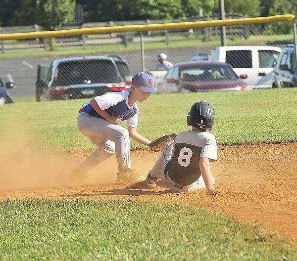 Lake Cumberland Cal Ripken baseball action photos