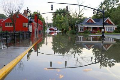 Heavy rains cause flash flooding in city, county
