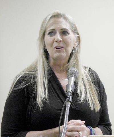 Auditor candidate speaks to Democrat Women's Club