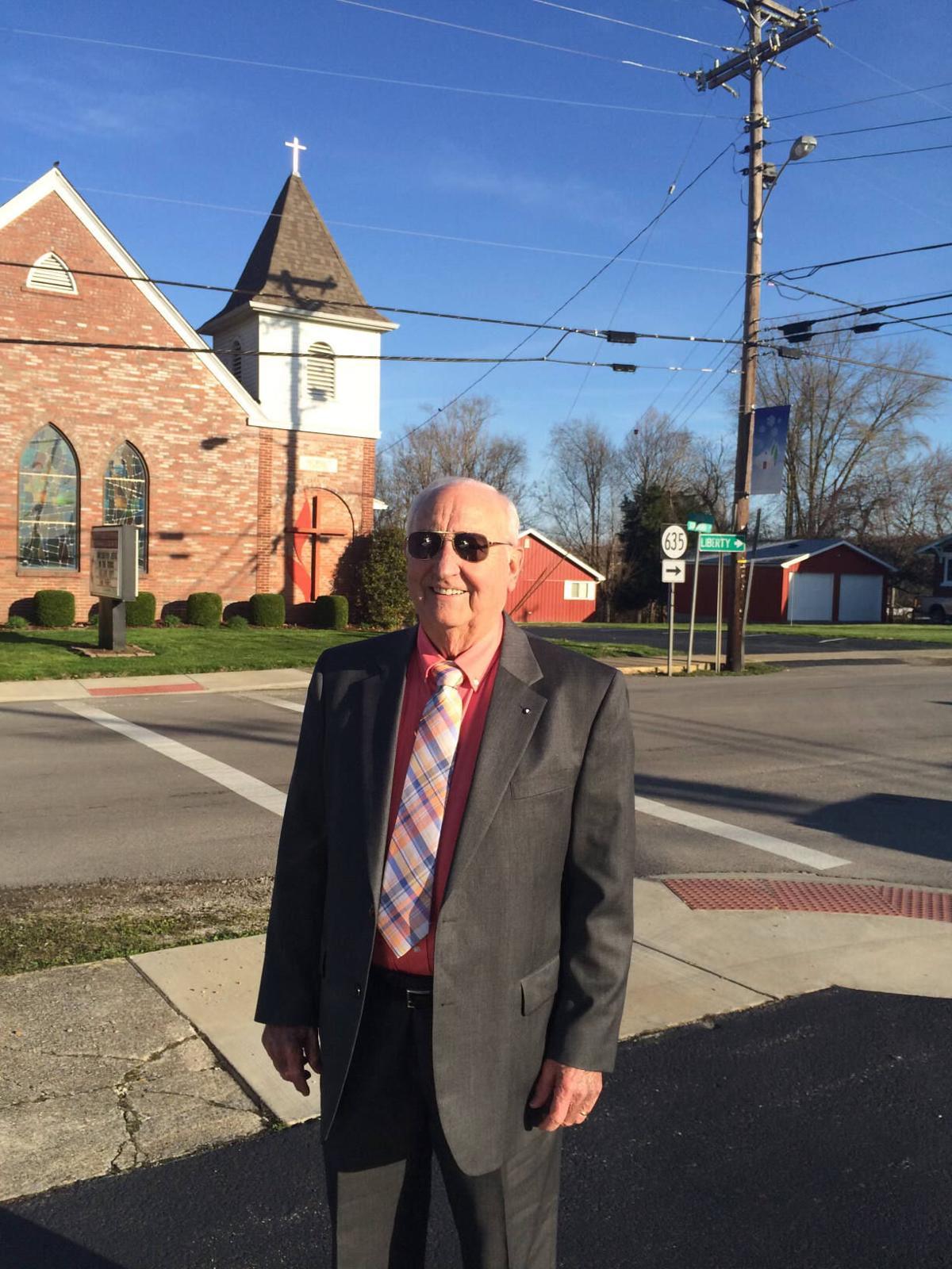 Samuel Ray Godby at church