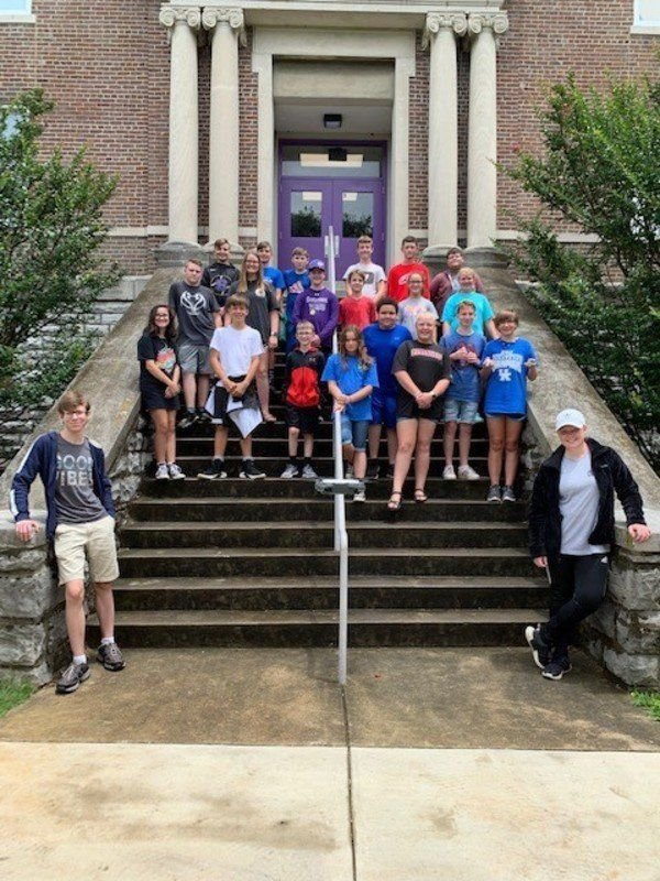Somerset Independent Gifted and Talented participate in STEM Camp