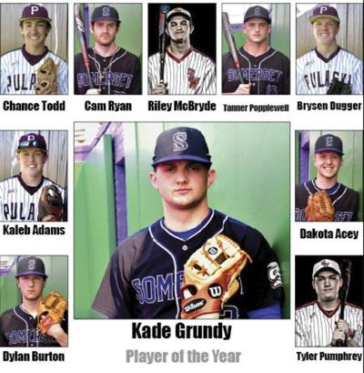 Kade Grundy named Baseball Player of the Year