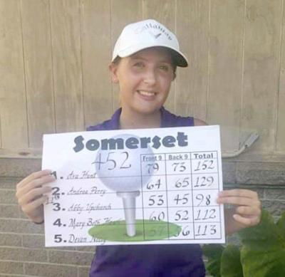 Somerset golfer Abby Upchurch qualifies for state tourney