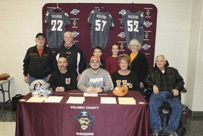 Dylan Hughes signs with Union College