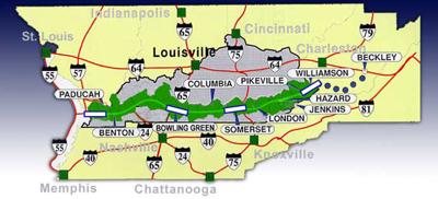 Kentucky Interstate Map on kentucky highway map, kentucky city map, kentucky i-24 map, kentucky interstate 65 map, kentucky golf trail map, kentucky interstate 64 map, kentucky interstate 24 map, highway 66 map, i-75 kentucky map,