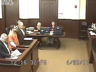 Man Disrupts Pulaski Courtroom