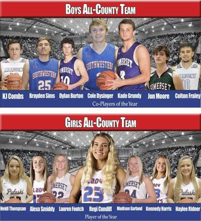 Cundiff, Grundy, Dysinger named top players in county