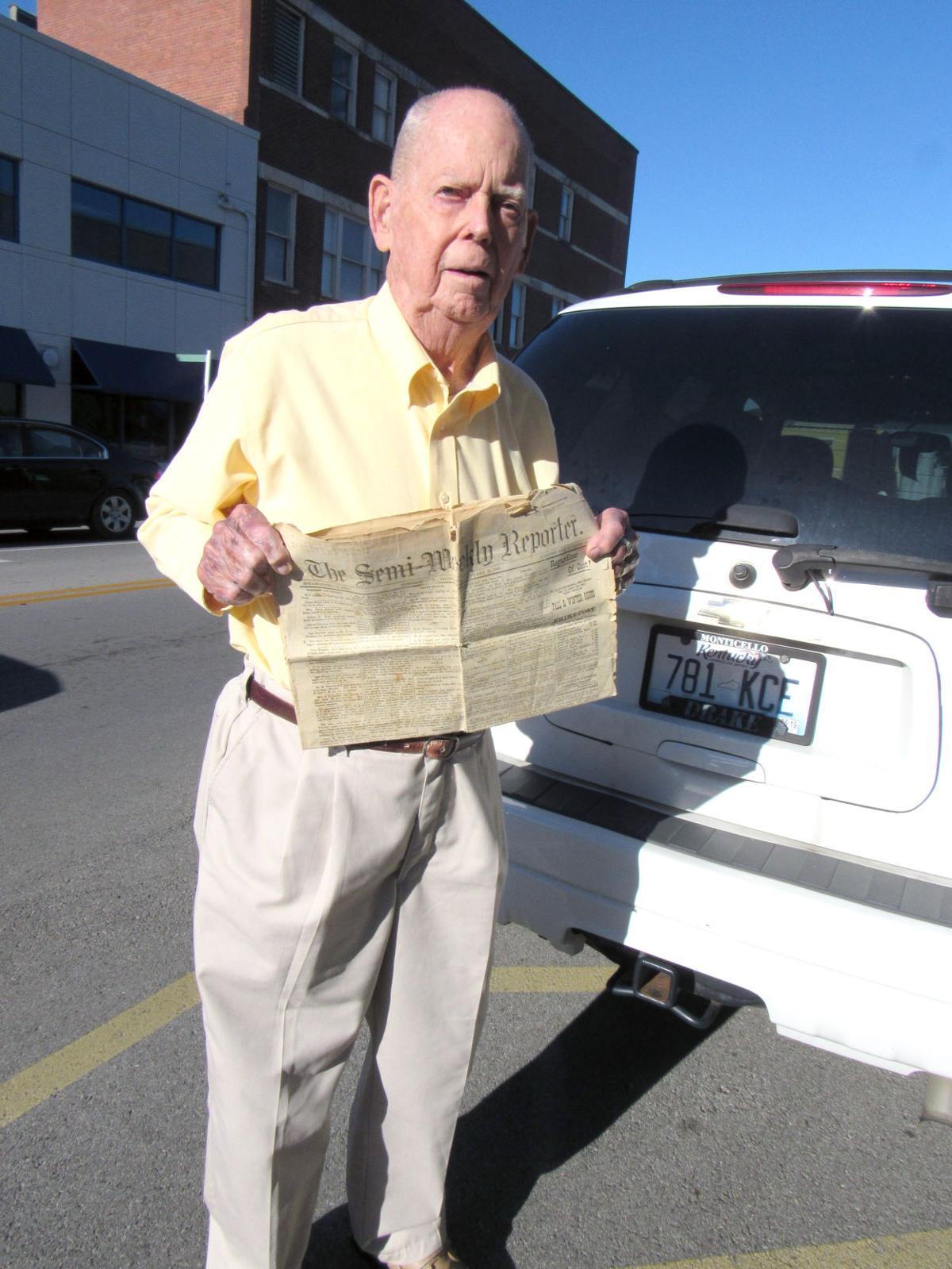 Male Newspaper Reporter