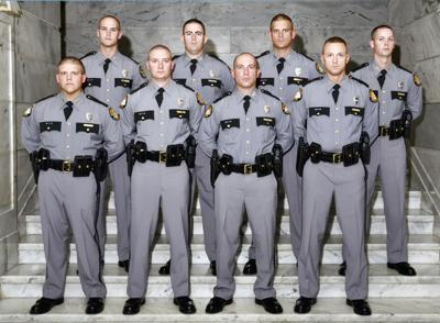 Kentucky State Police Post 11 welcoming eight new troopers