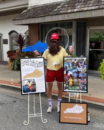 Run Duffy Run: Local runner Duffy Sutton runs a 5K race in all 120 Kentucky counties