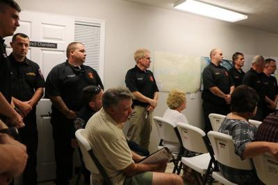 First responders recognized at Burnside meeting before 9/11