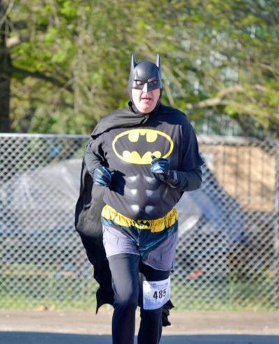 Superheroes 5K has a large turnout