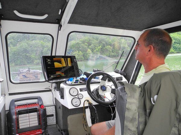 Let Burton's Guide Service navigate the fishing forecast on Lake Cumberland