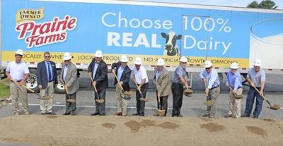 Prairie Farms Breaks Ground On 5 Million Expansion News Somerset Kentucky Com