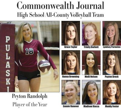 Peyton Randolph named Volleyball Player of the Year