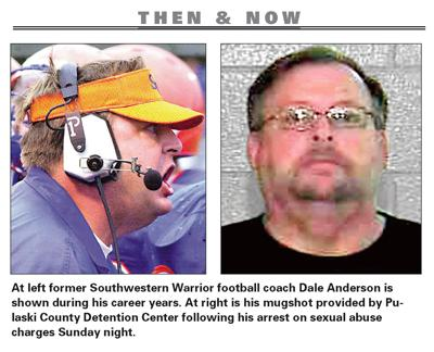Coach Dale Anderson arrested on sexual abuse charges   Local