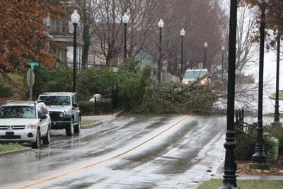 Stormy winds wreak havoc in Pulaski