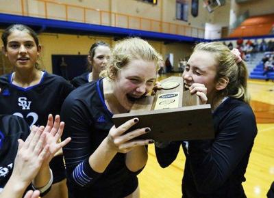 Lady Warriors win district title