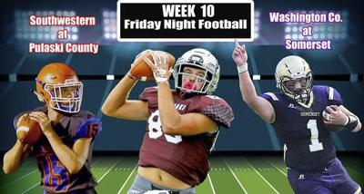 Local teams will finish up district play tonight