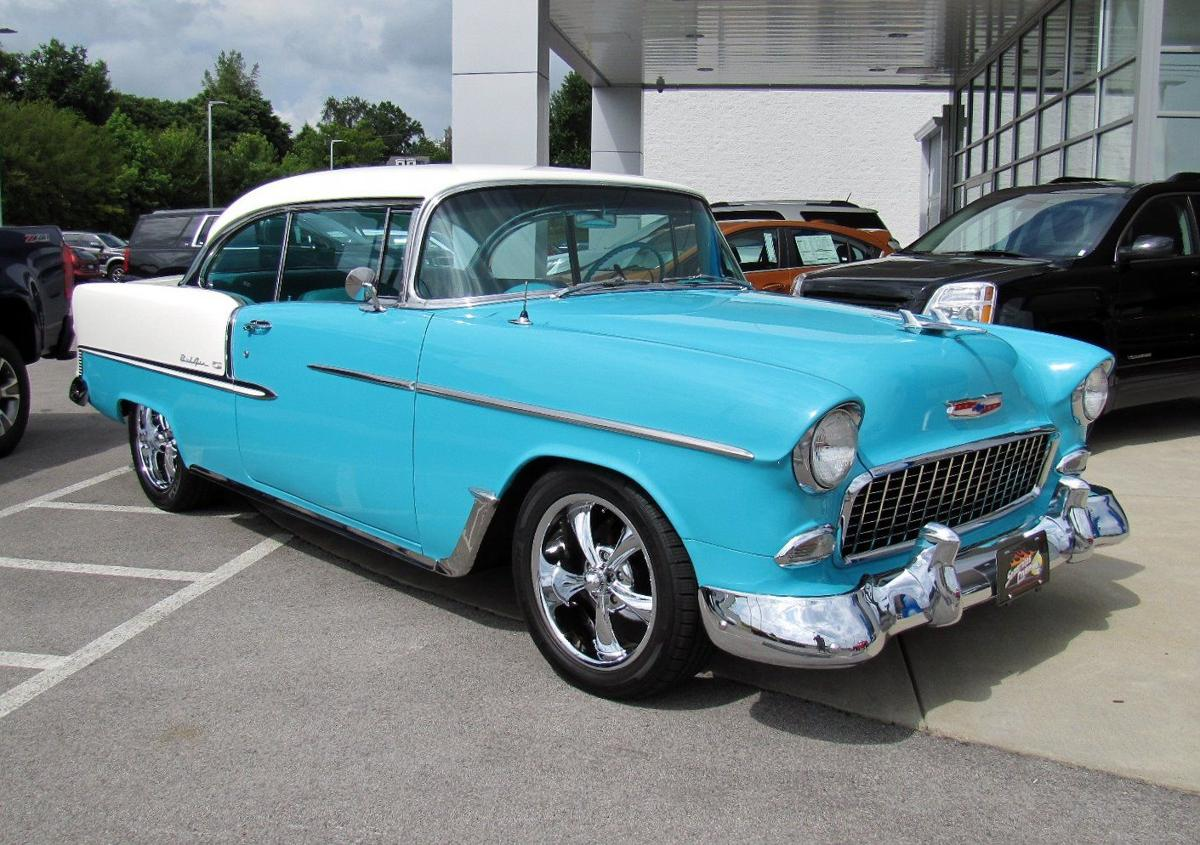 Tri-Five Chevy cars on display — and one to give away | News ...