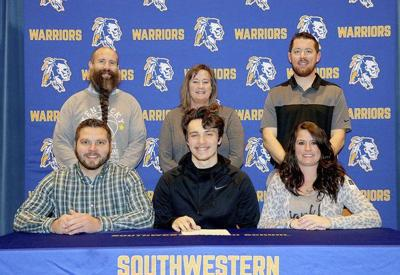 Caleb Seward signs with Berea College