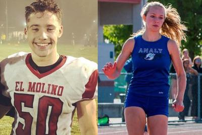 El Mo's Colman Hayes and Analy's Maddie Windsor