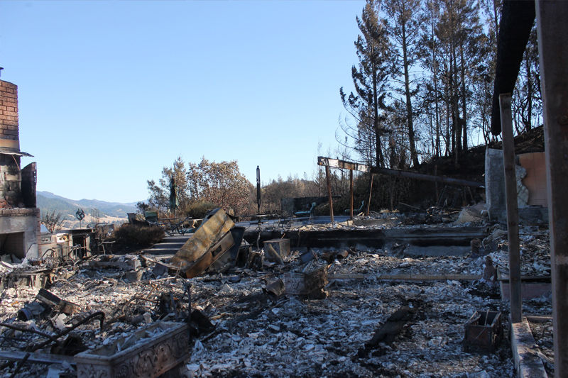 What is defensible space news for Building a defensible home