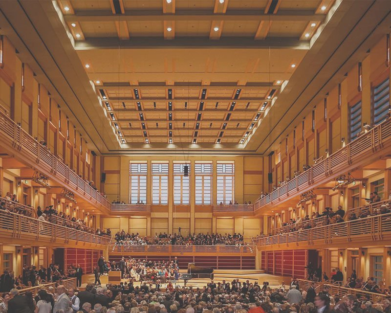 Weill Hall at the Green Music Center