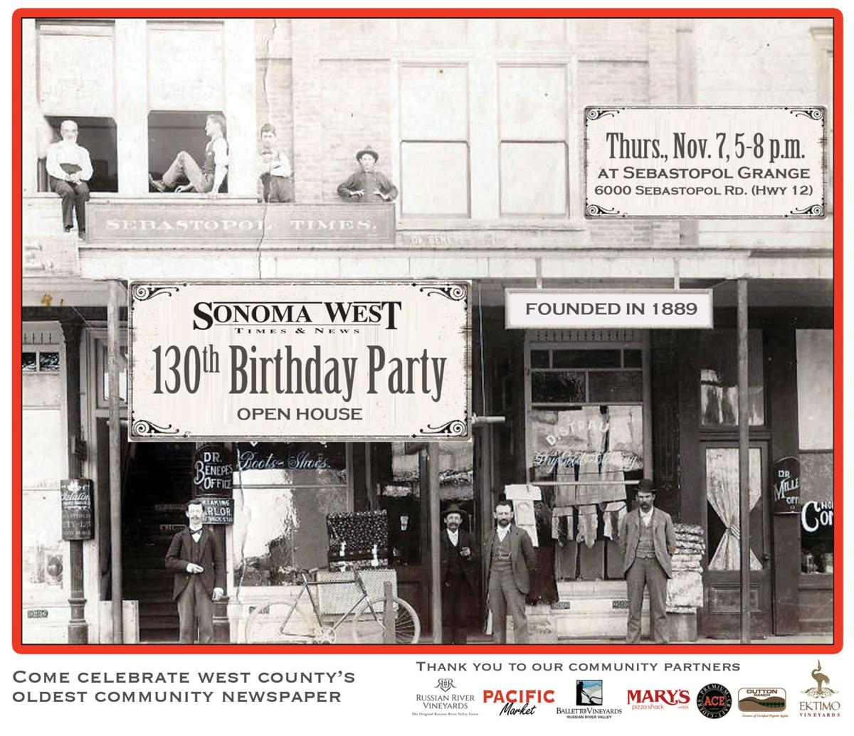 Invitation to 130th Birthday