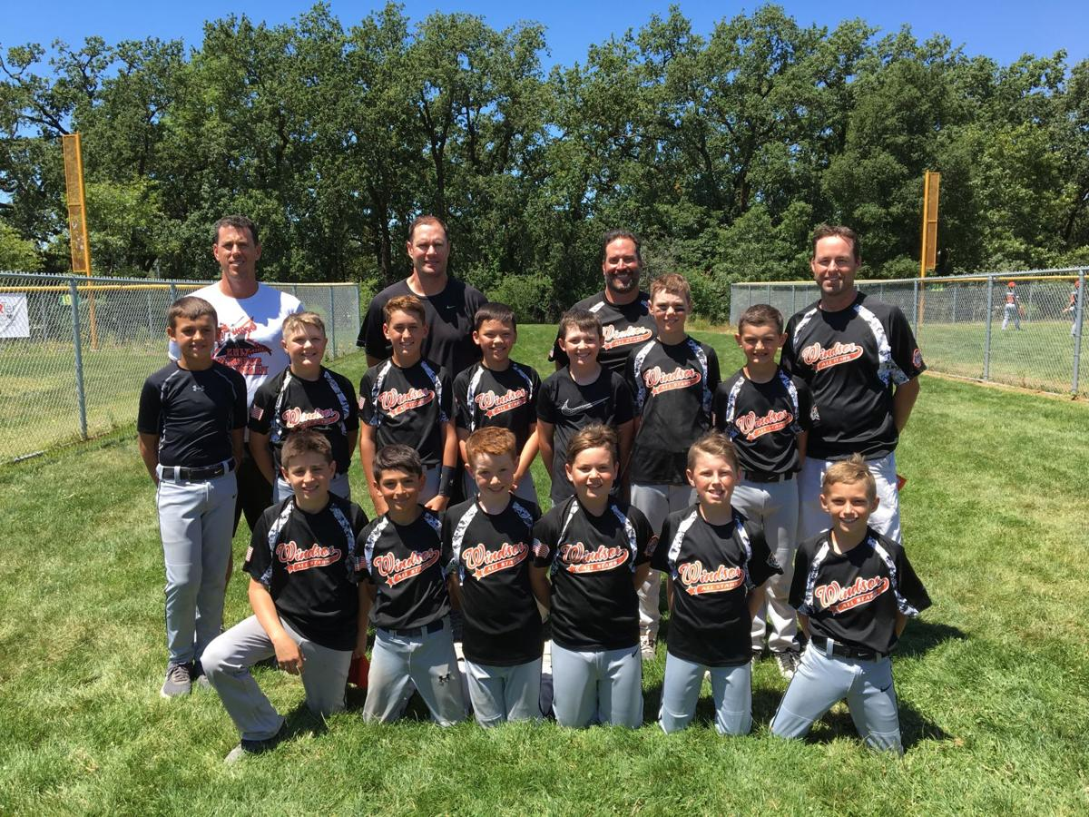 Windsor Baseballers Take Field In All Star Tournaments Sports Sonomawest Com