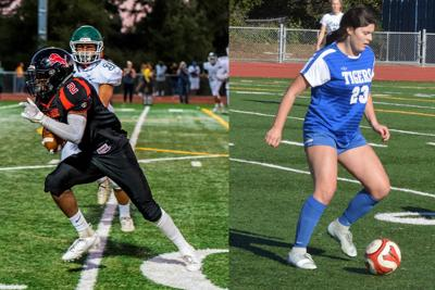 El Mo's Jalen Hall and Analy's Lily Ziemer