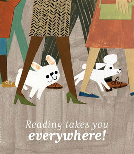 Reading takes you everywhere - donna romeo