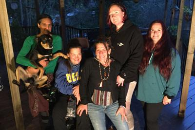 Acts of Kindness volunteers for homeless