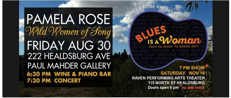 PATRICIA ROSE PRESENTS : WILD WOMEN OF SONG & BLUES IS A WOMAN