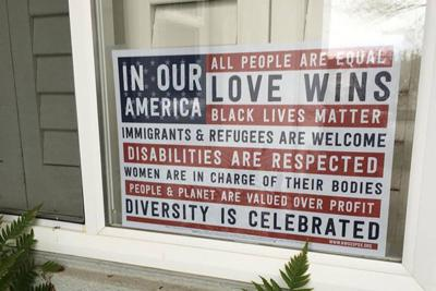 Cloverdale indivisible sign