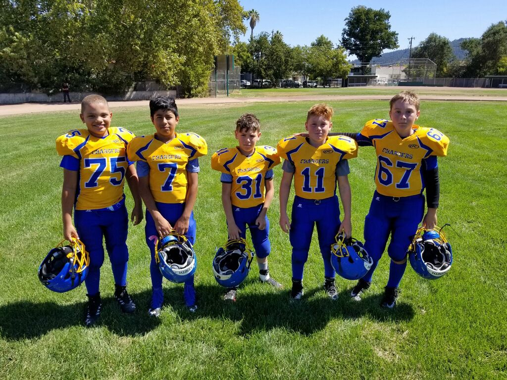 32f005ee Chargers football players of the week | Cloverdale Reveille ...