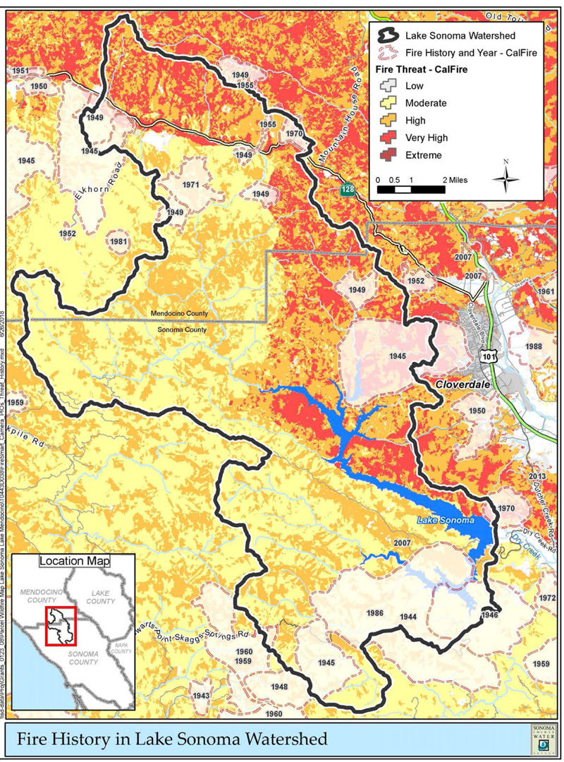 Lake Sonoma Watershed Fire Cameras To Be Installed News