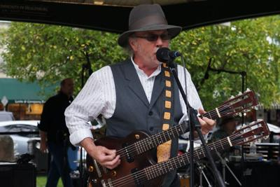 Roy Rogers will play May 29 in the Healdsburg Plaza