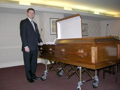 Local funeral homes see trend toward green, cremations