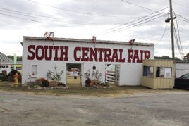 The iconic entrance to the fair