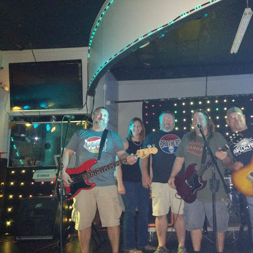 Moonshine Son Band kept the crowd going.