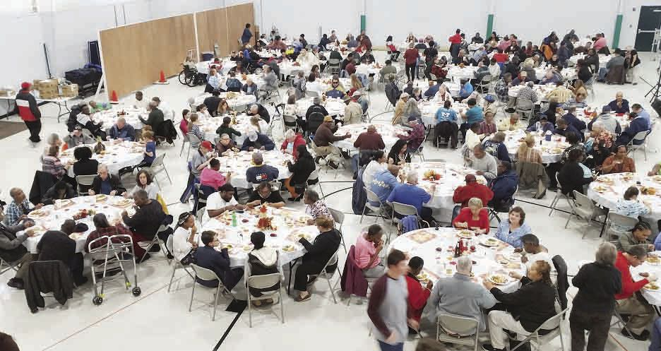 245 residents and staff gathered for the event