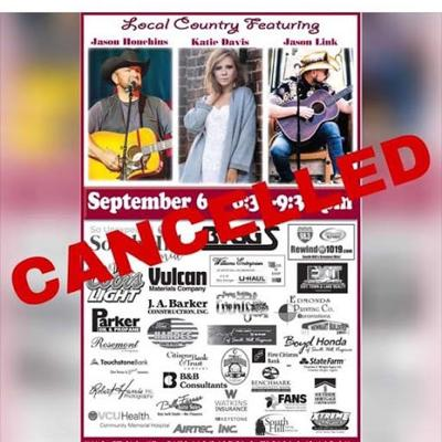 Local Country cancelled