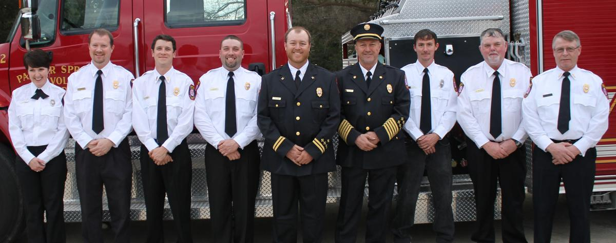 palmer springs vfd to dedicate new truck   south hill