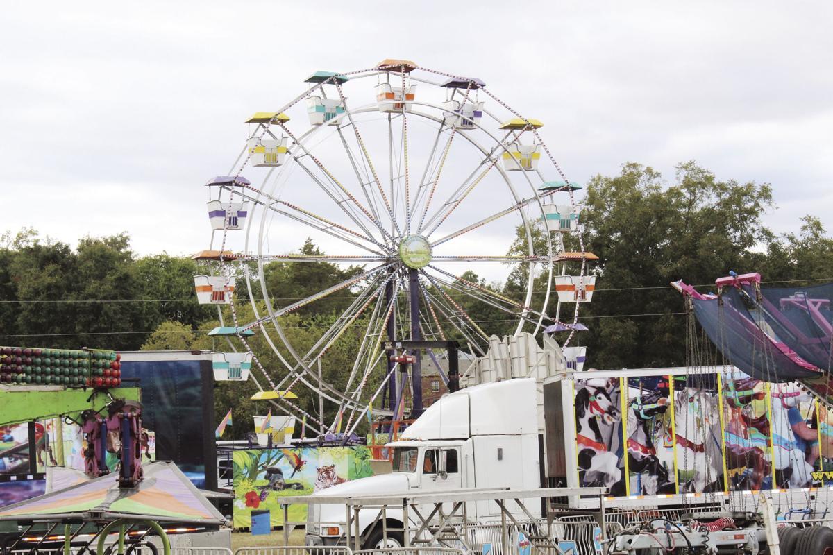 The South Central Fair ferris wheel