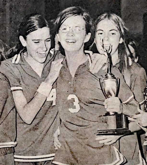 1974 PV Girls Captured Southside District Titles