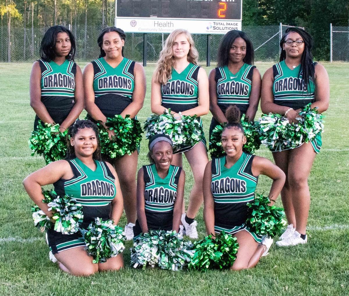 Park View Jr. High Cheerleaders